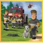 Požárník Sam Puzzle 3v1 (20 + 36 + 50 dílků)