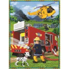 Požárník Sam Puzzle 2v1 + pexeso (30 + 48 dílků)