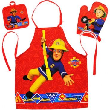 Požárník Sam set malý kuchař