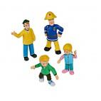 Požárník Sam - set figurek 1 (Charlie, James, Sam, Sarah)
