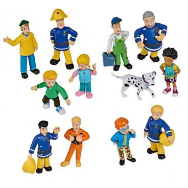 Požárník Sam - kompletní set figurek