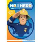 Požiarnik Sam Fleece deka modrá 100/150