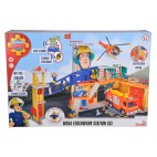 Požárník Sam Mega hasičská stanice XXL